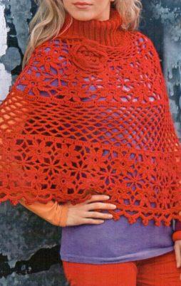 Favorite patterns - crochet poncho 7021