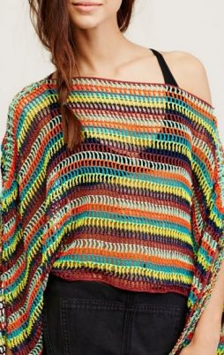 Favorite patterns - crochet poncho 7026c