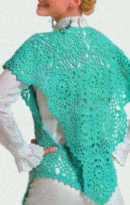 Favorite patterns - crochet vest 3043e