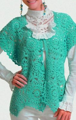 Favorite patterns - crochet vest 3043t