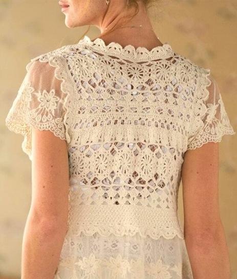 Crochet Top Pattern Beach Crochet Vest Crochet Wedding Vest