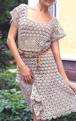 Favorite patterns - crochet dress 1075b