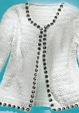 Favorite patterns - crochet jacket 3046