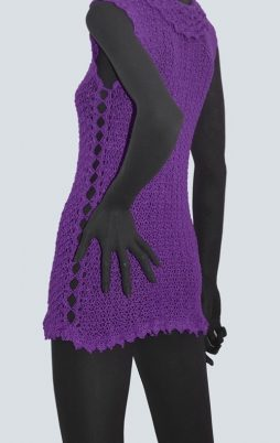 Favorite patterns - crochet tunic 4049v