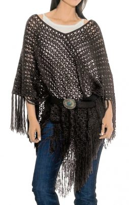 Favorite patterns - crochet poncho 7028c