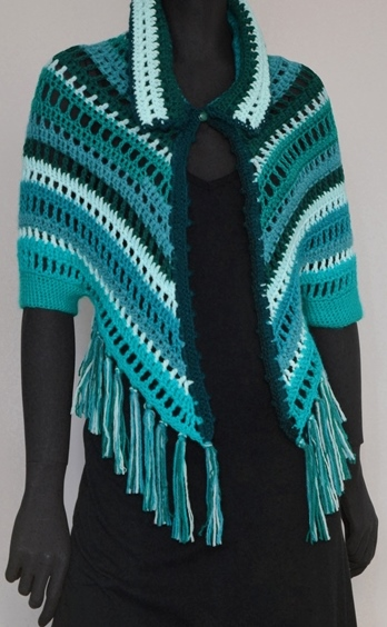 Crochet Shrug Pattern Crochet Shoulder Wrap Casual Crochet Shrug