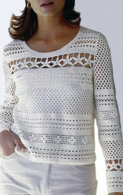 Favorite patterns - crochet tunic 4050y