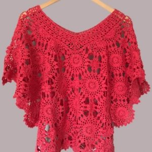 Crochet tunic PATTERN, beach crochet top, designer crochet tunic pattern.
