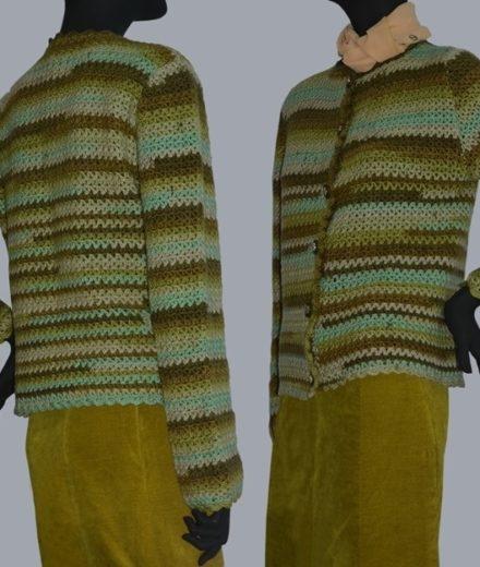 Crochet Cardigan Pattern Crochet Jacket Pattern Warm Crochet