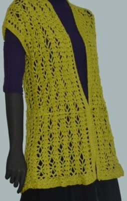 Favorite patterns - crochet vest 3048a