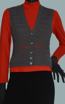 Favorite patterns - crochet vest 3049u