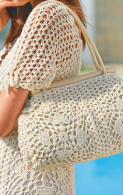 Favorite patterns - crochet bag 1044e