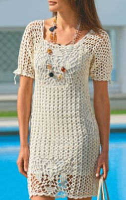 Favorite patterns - crochet dress 1044rr