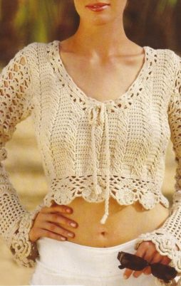 Favorite patterns - crochet sweater 4051a
