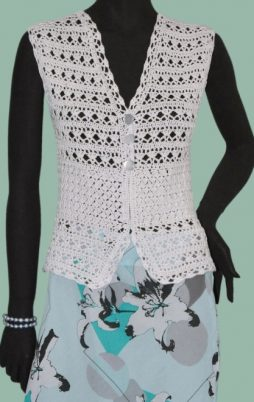 Favorite patterns - crochet vest 3051k